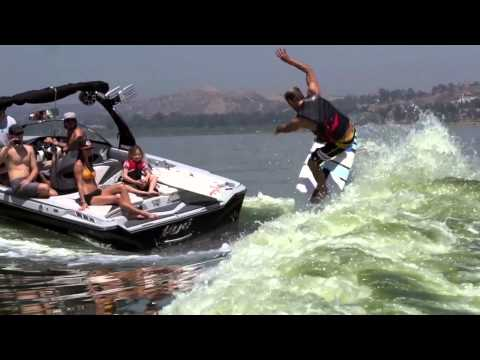 Josh Kerr and Chase Hazen Slaysh the Tige Z3 Surf Wave