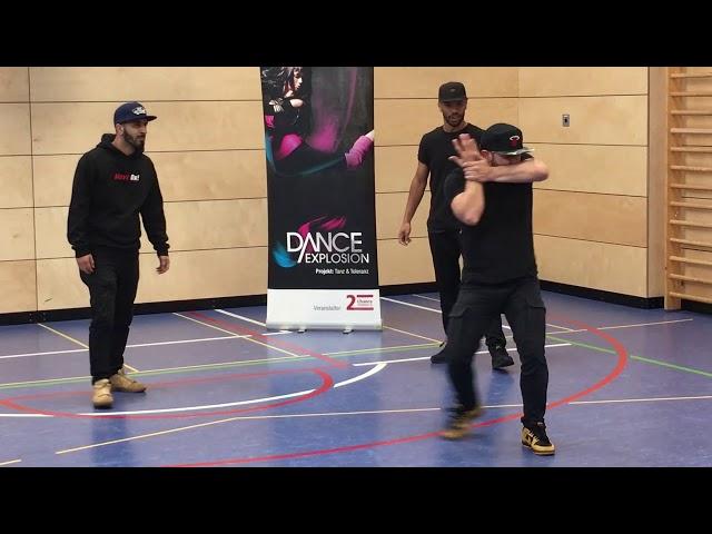 2. Chance Saarland e.V. unterwegs für die Dance Explosion-Schultouren