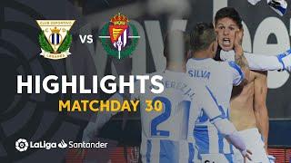 Highlights CD Leganes vs Real Valladolid (1-0)
