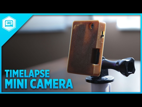 Build Your Own Miniature, Portable, Time Lapse Camera
