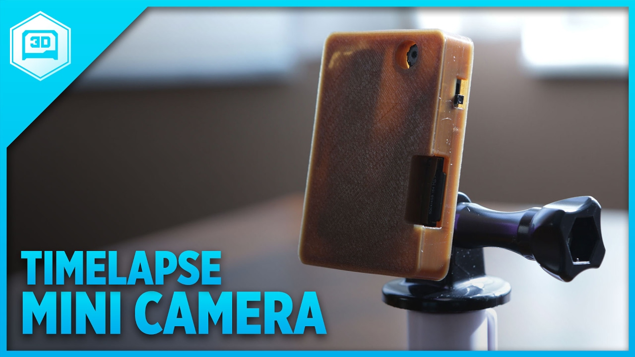 DIY Mini Timelapse Camera #adafruit @adafruit - YouTube