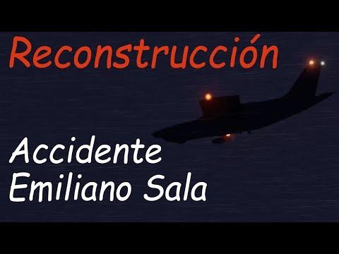 Reconstrucción del ACCIDENTE de EMILIANO SALA   Xplane 11