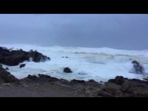 Stormy Ocean - the Pacific is not very pacific today)
