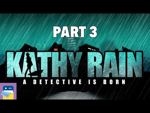 Kathy Rain: iOS iPad Air 2 Gameplay Walkthrough Part 3 (by Raw Fury & Noio)