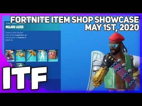 Fortnite Item Shop MAJOR LAZER SET IS BACK + NEW EMOTE! [May 1st, 2020] (Fortnite Battle Royale)