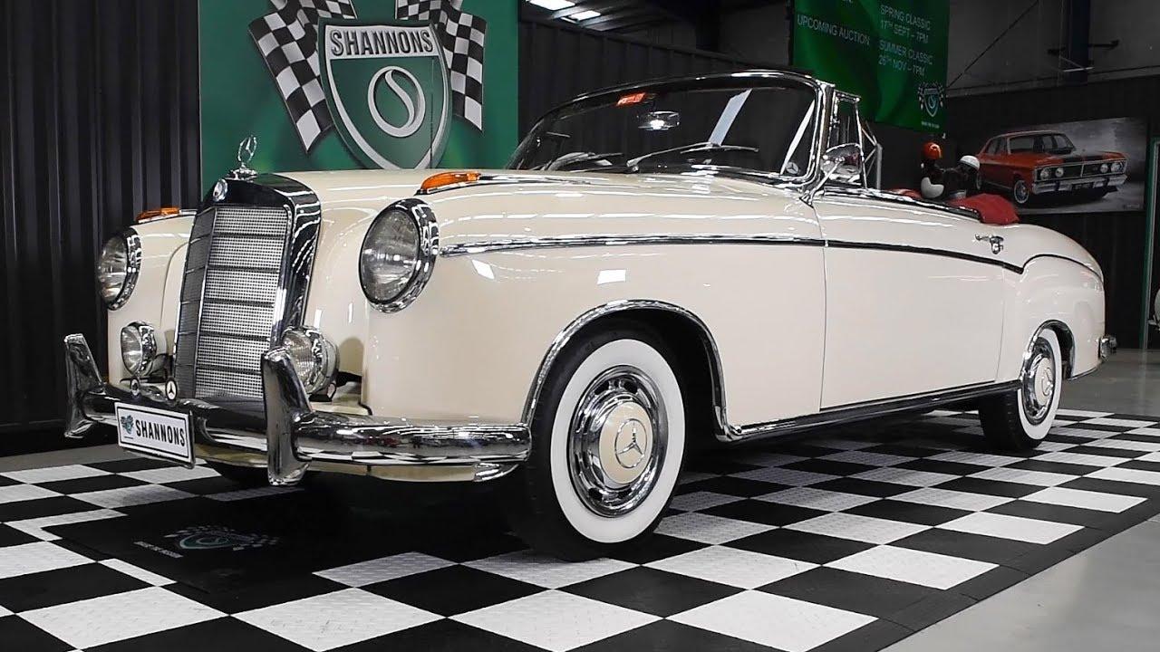 1960 Mercedes-Benz 220SE 'Ponton' Cabriolet - 2018 Shannons Melbourne Late Spring Classic Auction