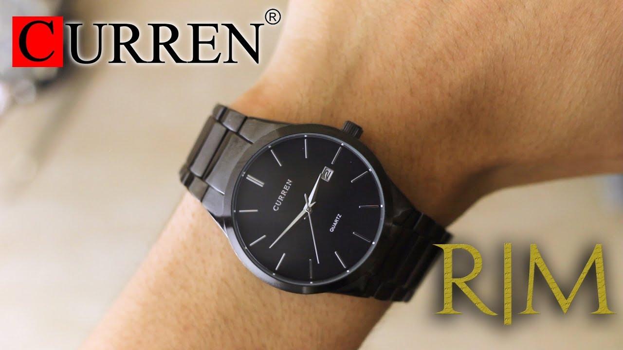 Unboxing Review de Reloj Curren Onix Negro 3a892dfc1e3