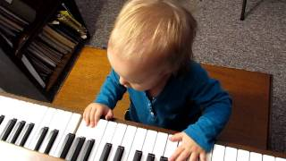 Sadie playing the piano part 2 1-13-12.MOV Thumbnail
