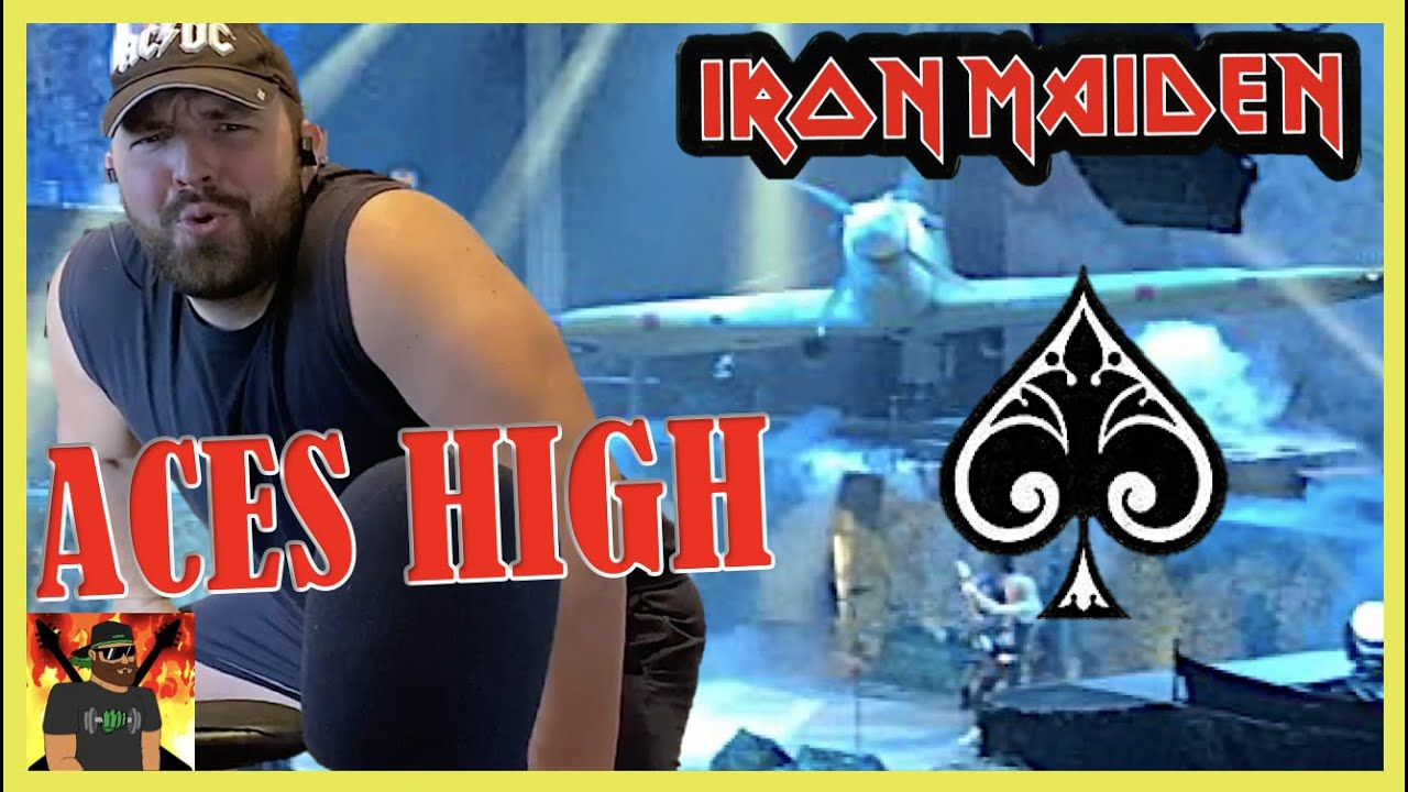 Download The Churchill Start!!   Iron Maiden - Aces High (Official Video)   REACTION