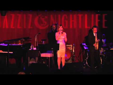 Molly Ringwald performing at Jazziz Nightlife