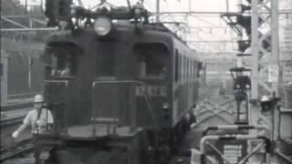 EF57,EF58,東北本線1/2白黒。EF57,EF58 on Tohoku main line.1/2,mono-chrome.