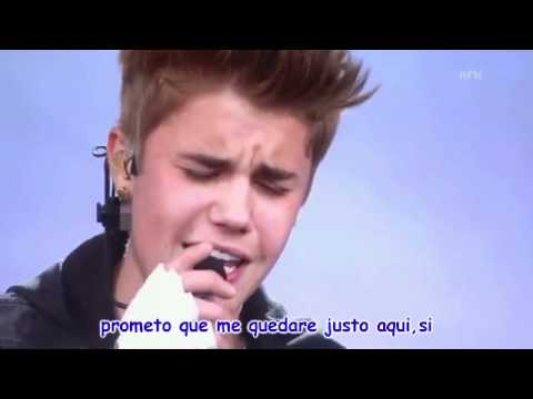 justin bieber be alright sub.español (live)