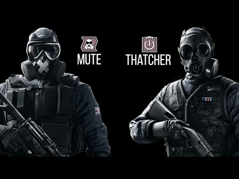 Tom Clancy's Rainbow Six | Siege / Mute - Thatcher Sınıfı [HD]