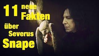 11 NEUE FAKTEN über Severus SNAPE