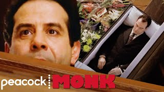 Monk Loses His Keys In A Casket | Monk