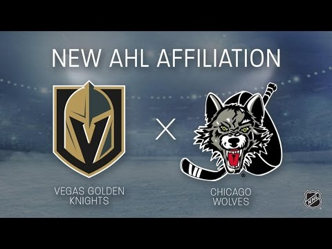 NHL News – Vegas Golden Knights New AHL Team