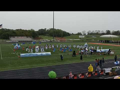 Grant County High School Marching Band - Larry A. Ryle - Prelim performance 9/22/2018