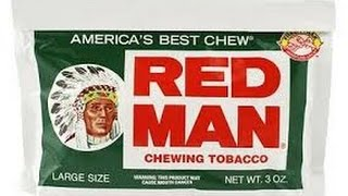 I Try Chewing Tobacco for the First Time! (Red Man)