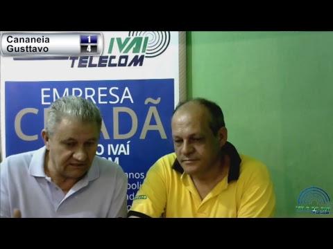 Transmissão ao vivo entre Gusttavo Supermercado e Cananéia