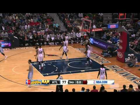 Denver Nuggets vs Atlanta Hawks | March 15, 2014 | NBA 2013-14 Season