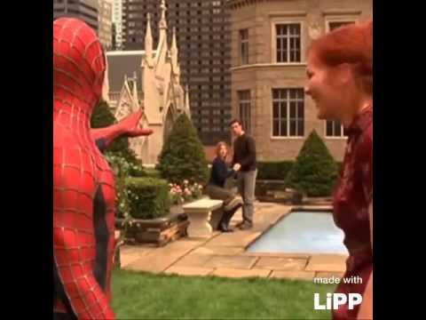 Spider-man is information sensitive