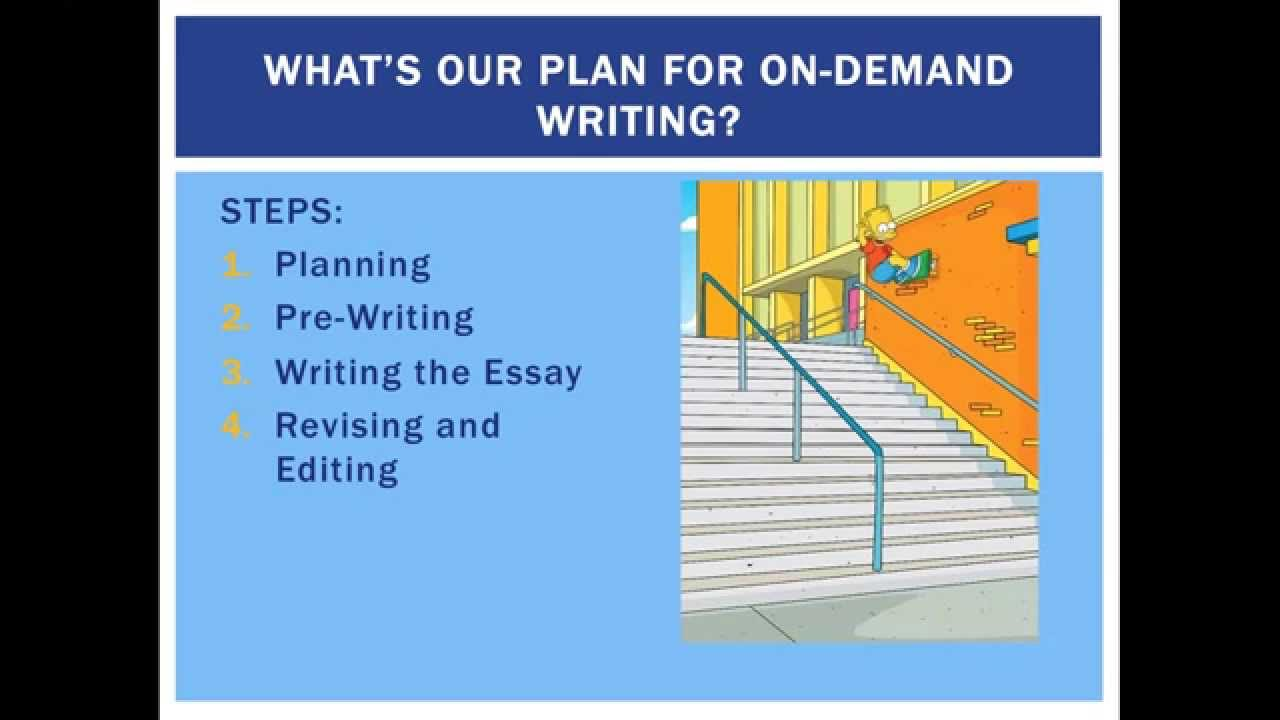 on demand writing on demand writing