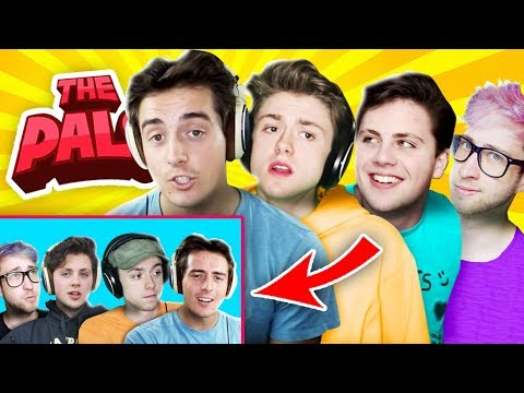 The Pals REACT to THEMSELVES!? (The Pals React to The Pals)
