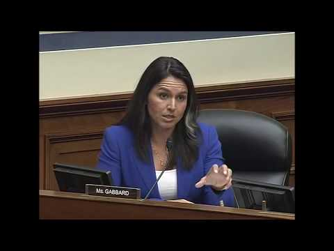 Rep. Tulsi Gabbard Questions Top Security Experts on Integrity of Nation's Election Infrastructure