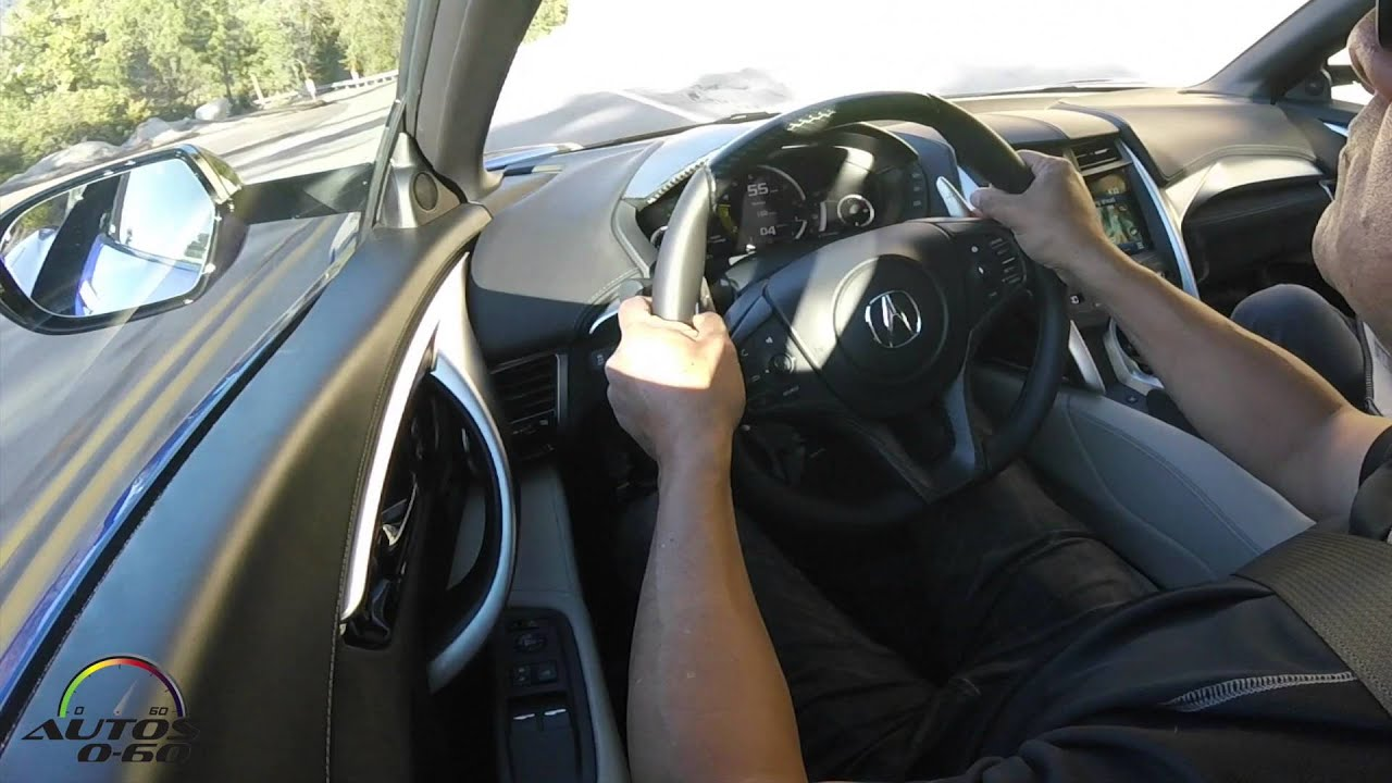 Acura NSX St Look And Drive On The Road Around Palm Springs - Palm springs acura