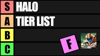 Halo Tier List (Ranking Every Halo Game)
