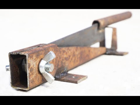 How to Make Simple WOOD CUTTER