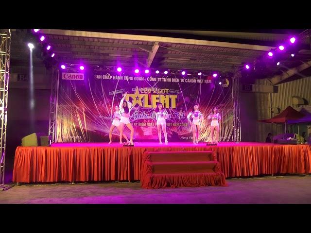 Vũ điệu sôi động trong đêm CEV'SGOT TALENT 2018 CaNon Việt Nam