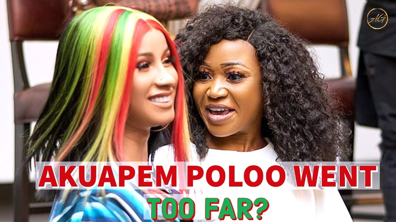 Ghanian Actress Akupem Poloo SLAMMED For Awkward Photoshoot with Her Son!