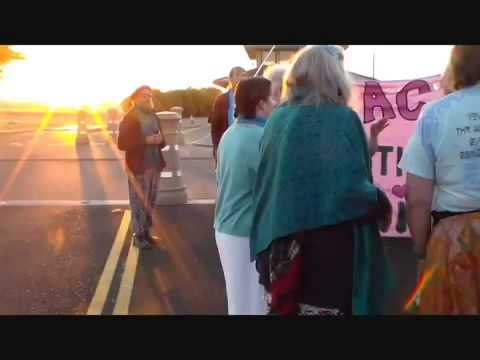 Campaign NonViolence, Occupy Beale AFB, Dances of Universal Peace Direct Action