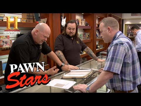 Download Youtube: Pawn Stars: Star Wars Signed Script | History