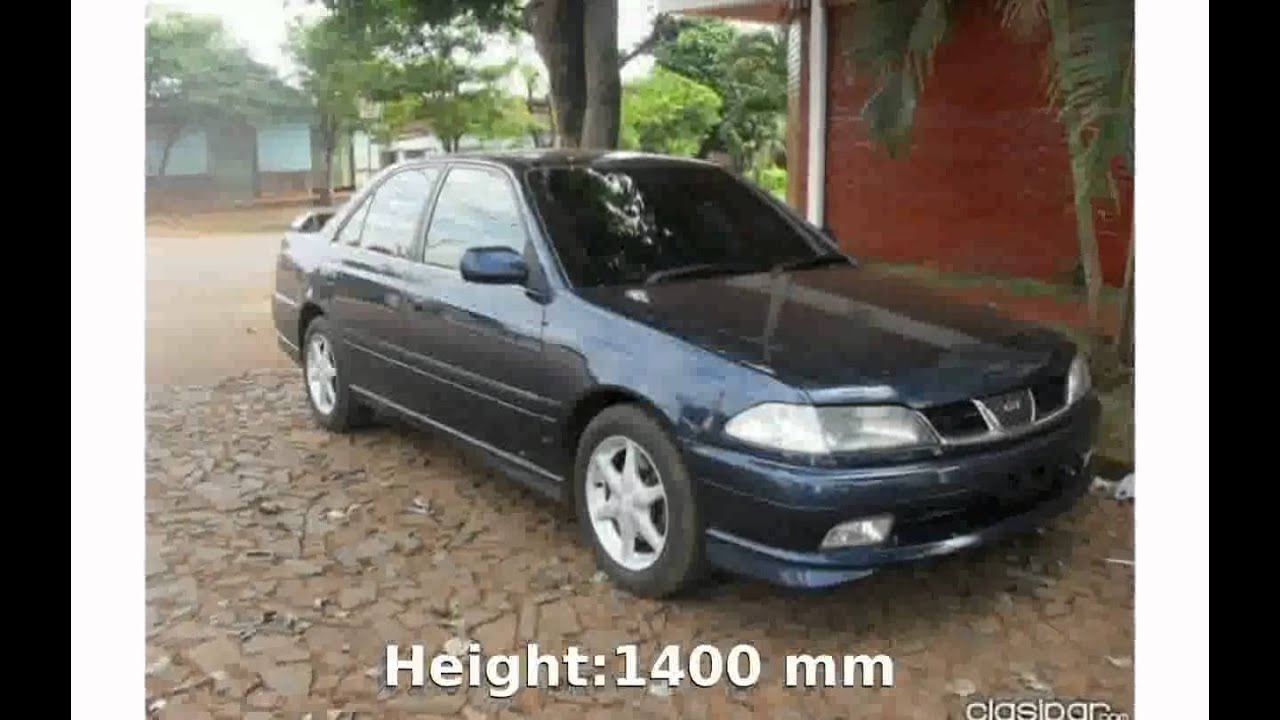 2001 Toyota Carina 1 6 Gt Review Youtube