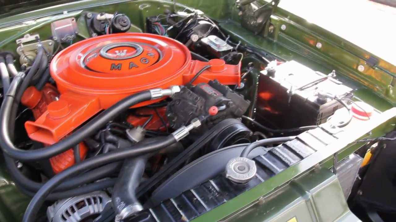 1970 Dodge Charger 500 Classic Muscle Car for Sale in MI Vanguard ...