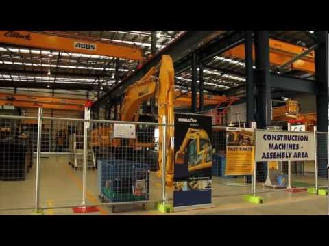Komatsu Australia Wacol Staff Open Day Video - Featuring Jacko Strong, Jamie Whincup & Craig Lowndes