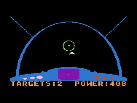 Space Ranger - Atari game for NOMAM BASIC 10Liners Contest 2017