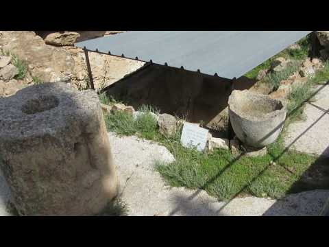 Bethlehem - The Shepherds' Field - the remains of a farming settlement from 1st century A. D