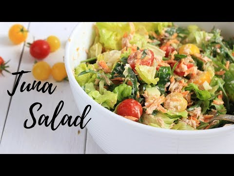 TUNA SALAD RECIPE | HEALTHY RECIPES
