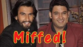Ranveer Singh Asked for a Huge Fee to Host an Episode for 'Friend' Kapil Sharma - TOI