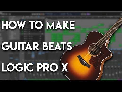 How To Make Guitar Beats In Logic Pro X | Trap Beat Tutorial