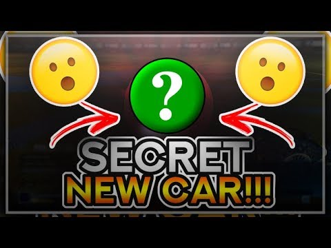 *EARLY LOOK* NEW CAR COMING TO ROCKET LEAGUE!! (Rocket League Secrets)