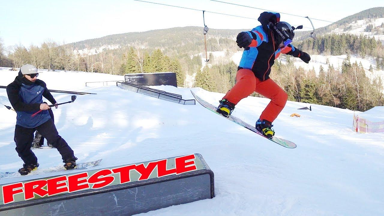 Učím se Freestyle Snowboarding! | Tary