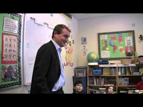 Senator Bennet visits Whittier Elementary