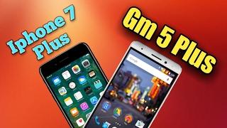 iphone 7 Plus vs General Mobile Gm 5 Plus hz testi(speed test)