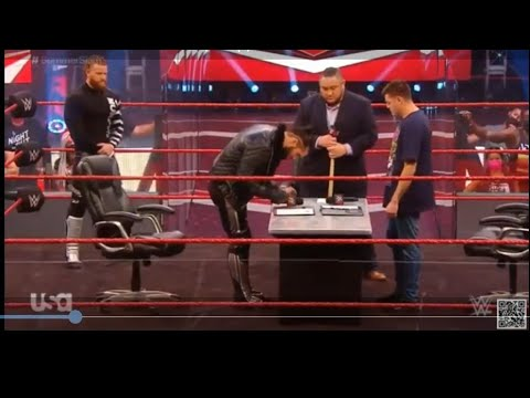 Download WWE Raw 10 August,2020 Full Highlights HD:- SETH ROLLINS AND DOMINIC CONTRACT SIGNING FOR SUMMERSLA