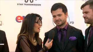 3 Sud Est - interviu pe covorul verde la Media Music Awards 2014!