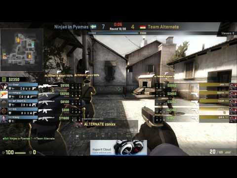 (25.09.2014) NIP vs ATN | Ninjas in Pyjamas vs Team ALTERNATE | Dreamhack Stockholm 2014